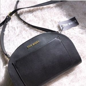 Steve Madden Black Crossbody Handbag